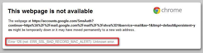 ERR_SSL_BAD_RECORD_MAC_ALERT