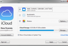 icloud and outlook 365 sync issues
