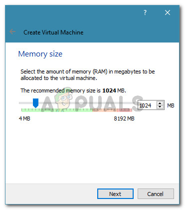 Allocating memory