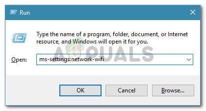 Accessing the Wi-Fi Settings menu on Windows 10