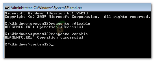 Re-enabling the Windows Recovery environment on healthy PC