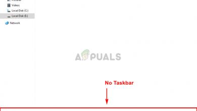 Taskbar disappeared