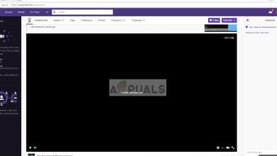Twitch Black Screen
