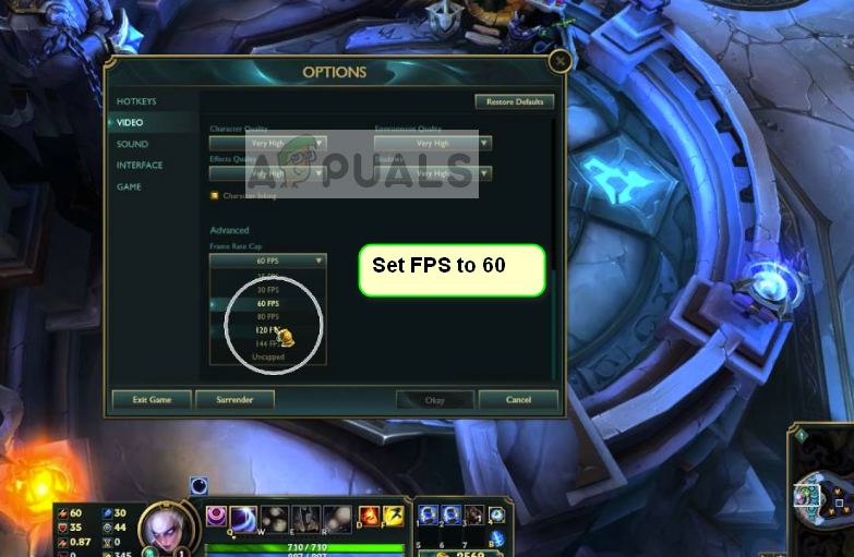 Fix: League of Legends FPS Drop - Appuals com