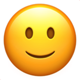 Slightly Smiling Emoji