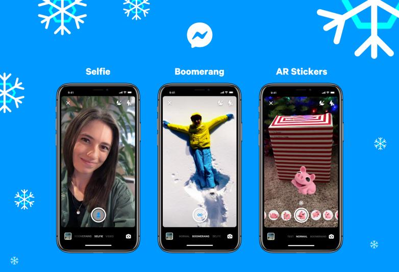 Messenger Selfie Mode