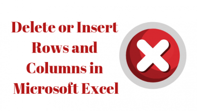 Photo of How to Insert and Delete Entire Rows and Columns on Microsoft Excel