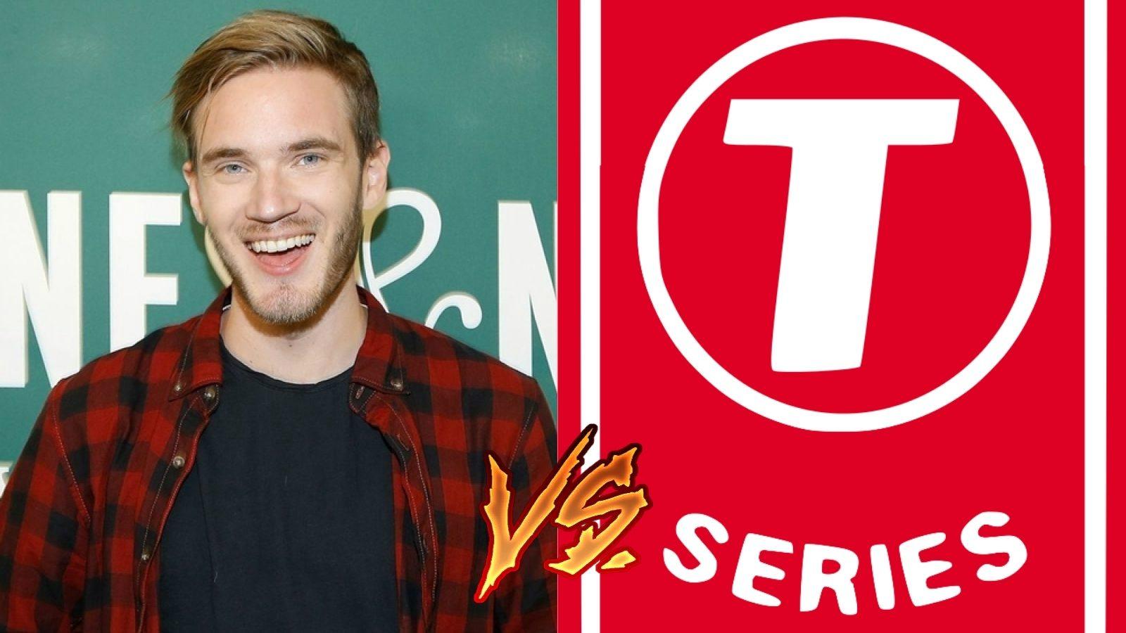 PewDiePie and T-Series