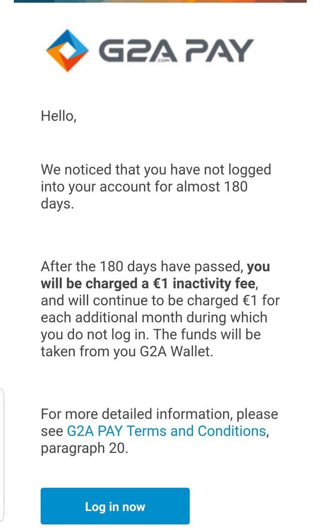 G2A Email