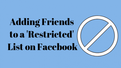 Photo of How to Add a Friend on Facebook to the Restricted List