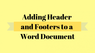 Photo of How to Make a Different Header and Footer for the First Page of a Word Document
