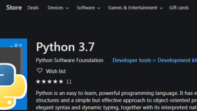 Photo of Python Now Being Offered Through Microsoft Store