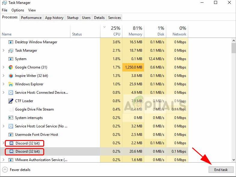Fix: Installation has failed error on Discord - Appuals com