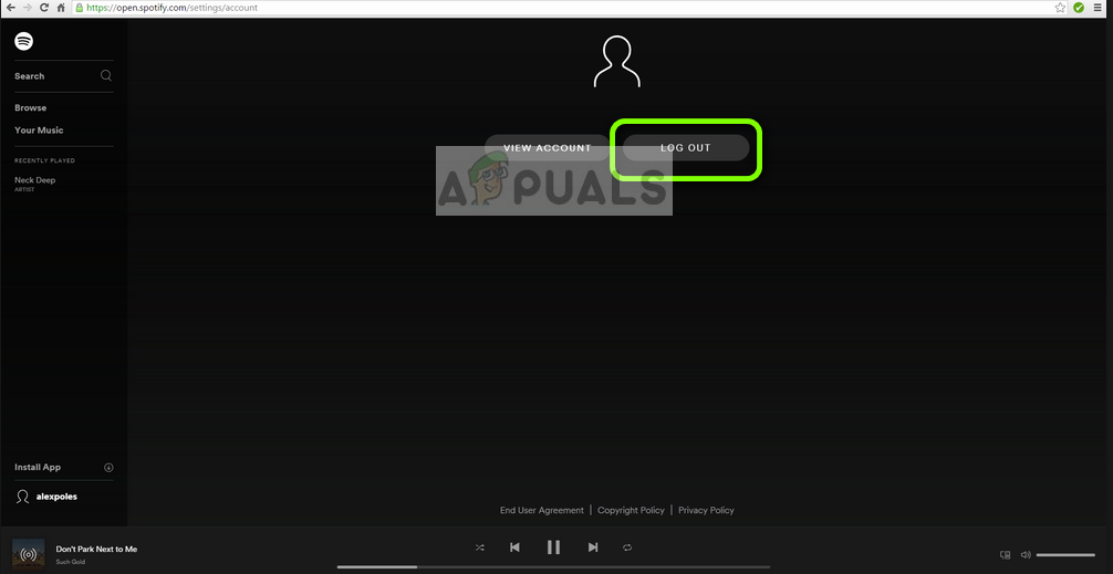 Fix: Spotify Error Code 7 - Appuals com