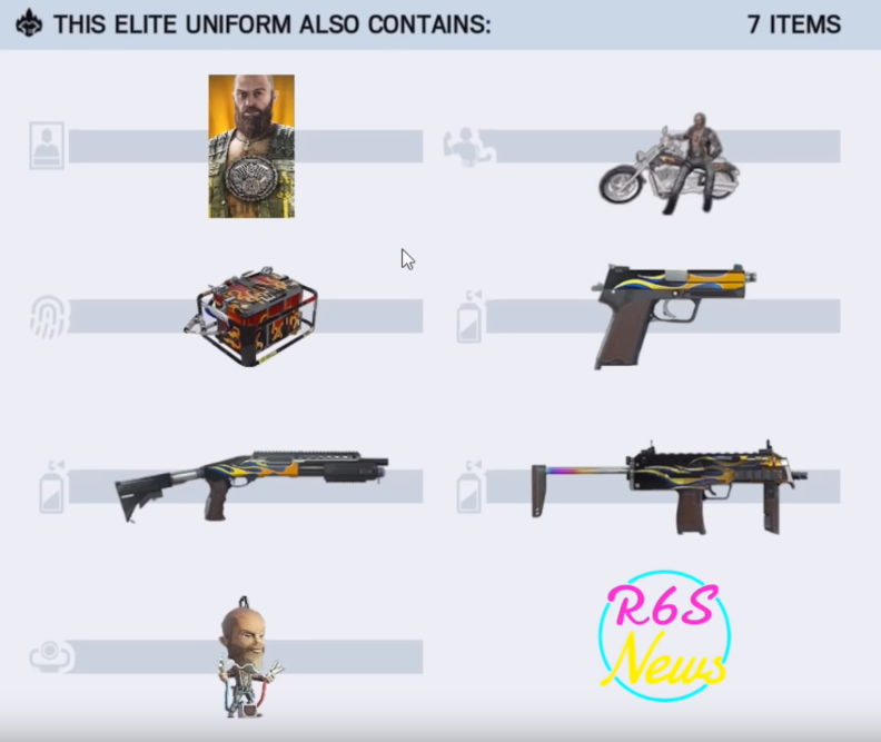 Rainbow Six Siege Bandit Elite Set and Victory Animation Leaked