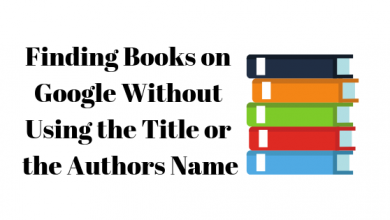 Photo of How to Find Books on Google Without Using the Title or Authors Name