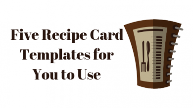 Photo of 5 Recipe Card Templates for Microsoft Word
