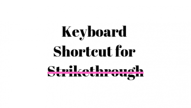 Photo of What is the Keyboard Shortcut for Strikethrough