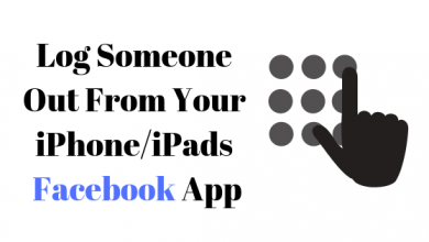 Photo of How to Log Someone Out on the iPhone/iPad Facebook App
