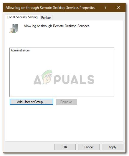 Fix: Your Credentials Did not Work in Remote Desktop - Appuals com
