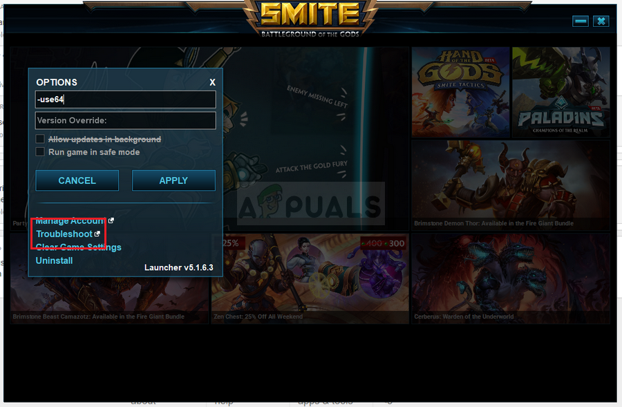 Fix: SMITE is Unable to Find Steam Installation - Appuals com