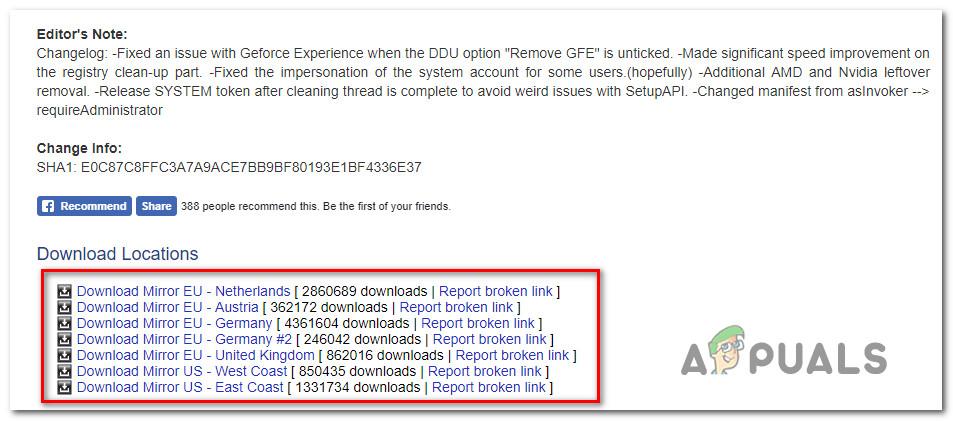 Fix: GeForce Experience Error Code 0x0001 - Appuals com