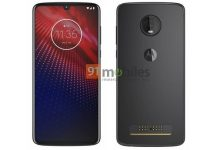 Moto Z4 Press Render