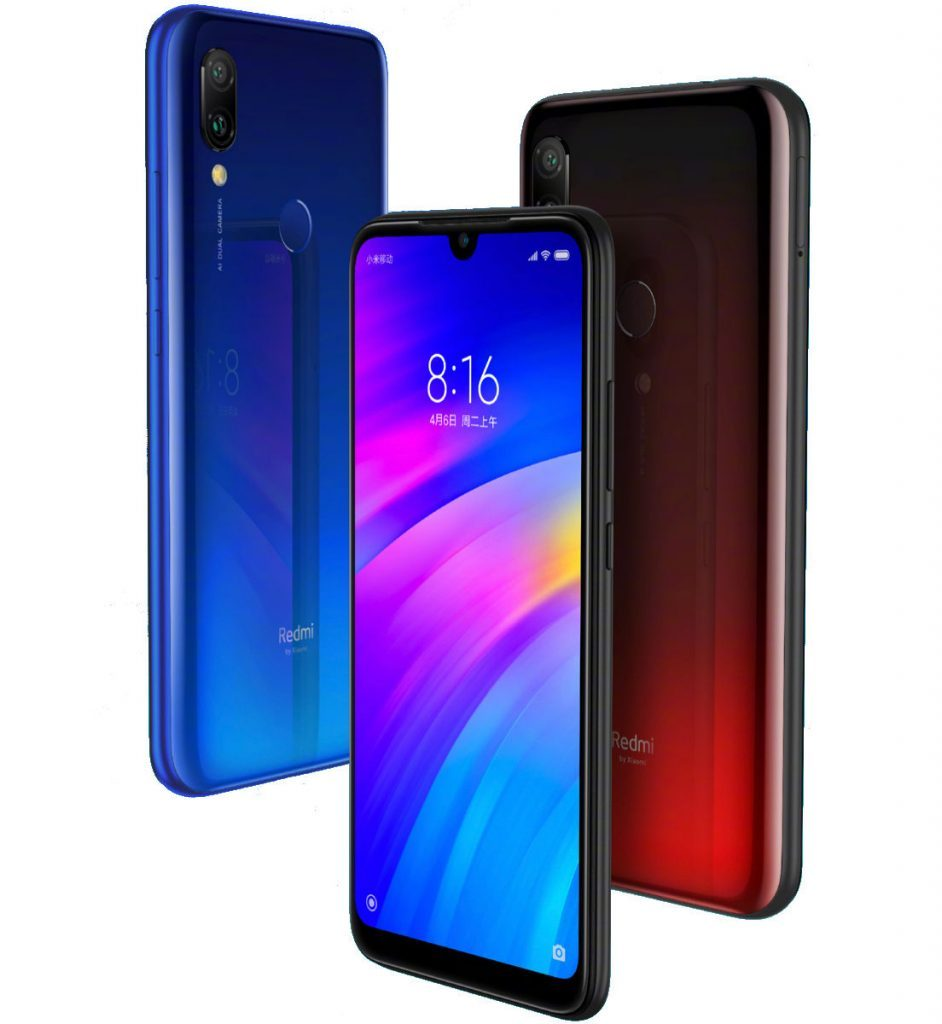 Redmi 7 Gradient Colors