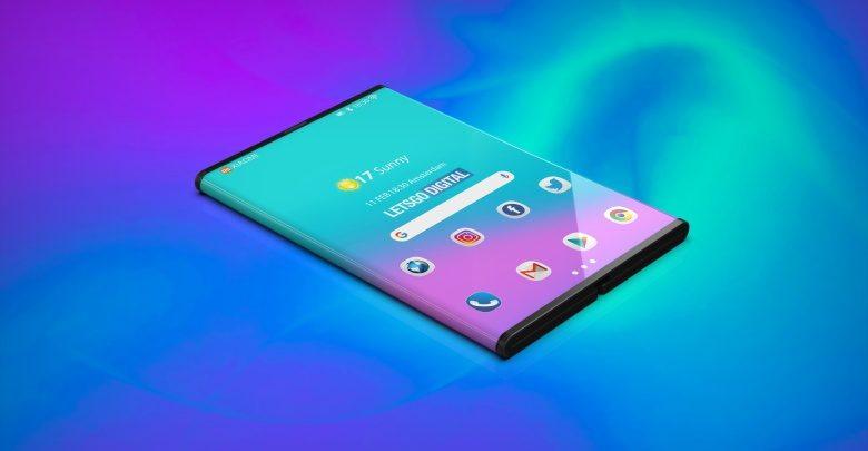 Xiaomi Foldable Smartphone Render