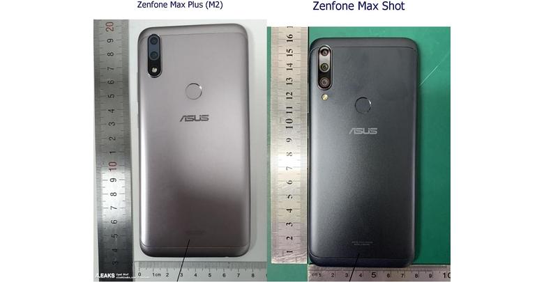 ZenFone Max Plus M2 and ZenFone Max Shot