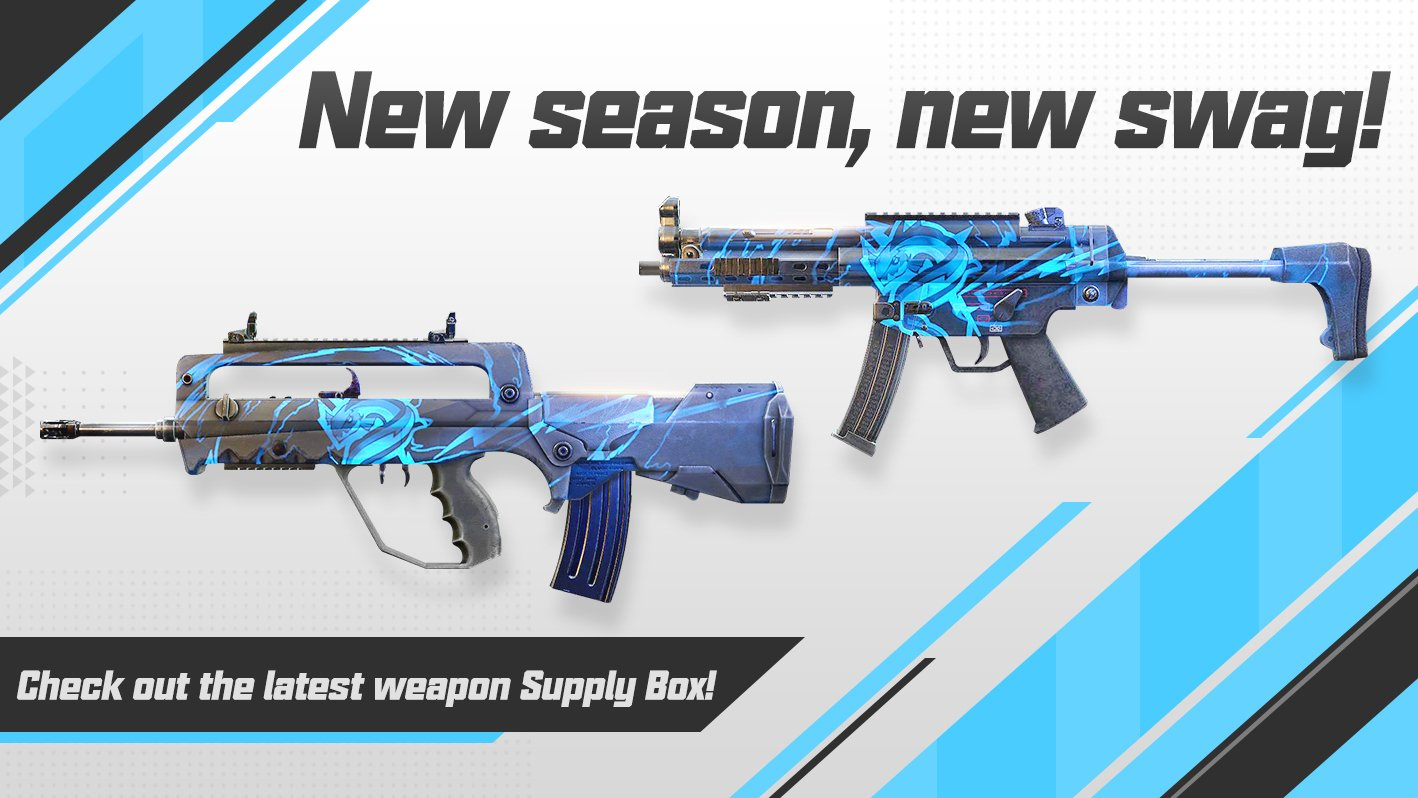 New Weapon Skins