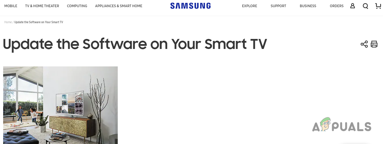 Fix: Samsung TV not Connecting to Wifi - Appuals com