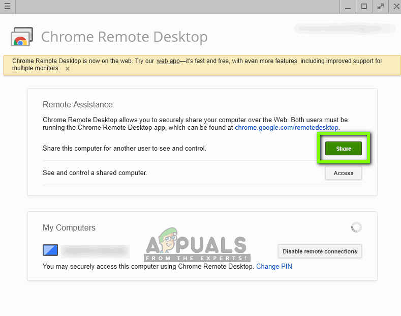 Fix: Chrome Remote Desktop not Working - Appuals com