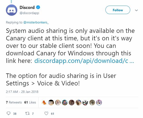 Fix: Discord Screen Share Audio not Working - Appuals com