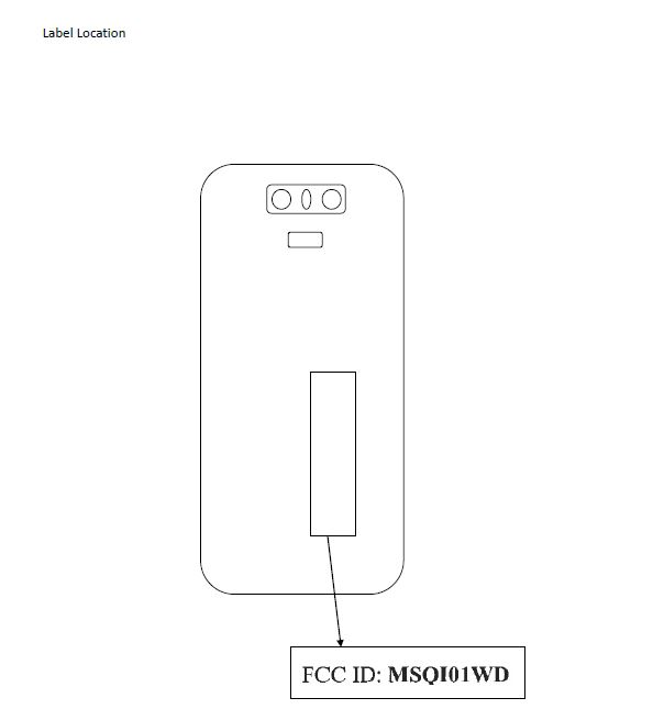 ASUS ZenFone 6 FCC Illustration