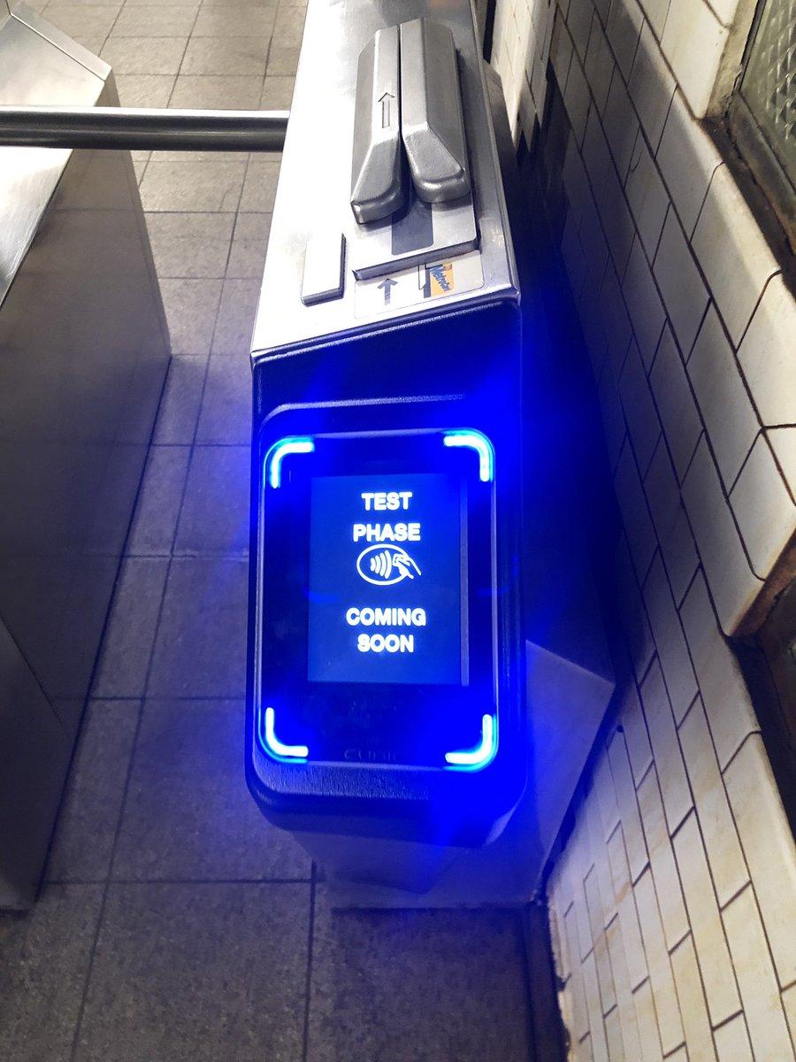 Apple pay on NYC Subway