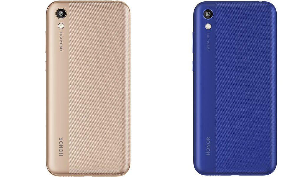 Honor 8S Blue and Gold Colors