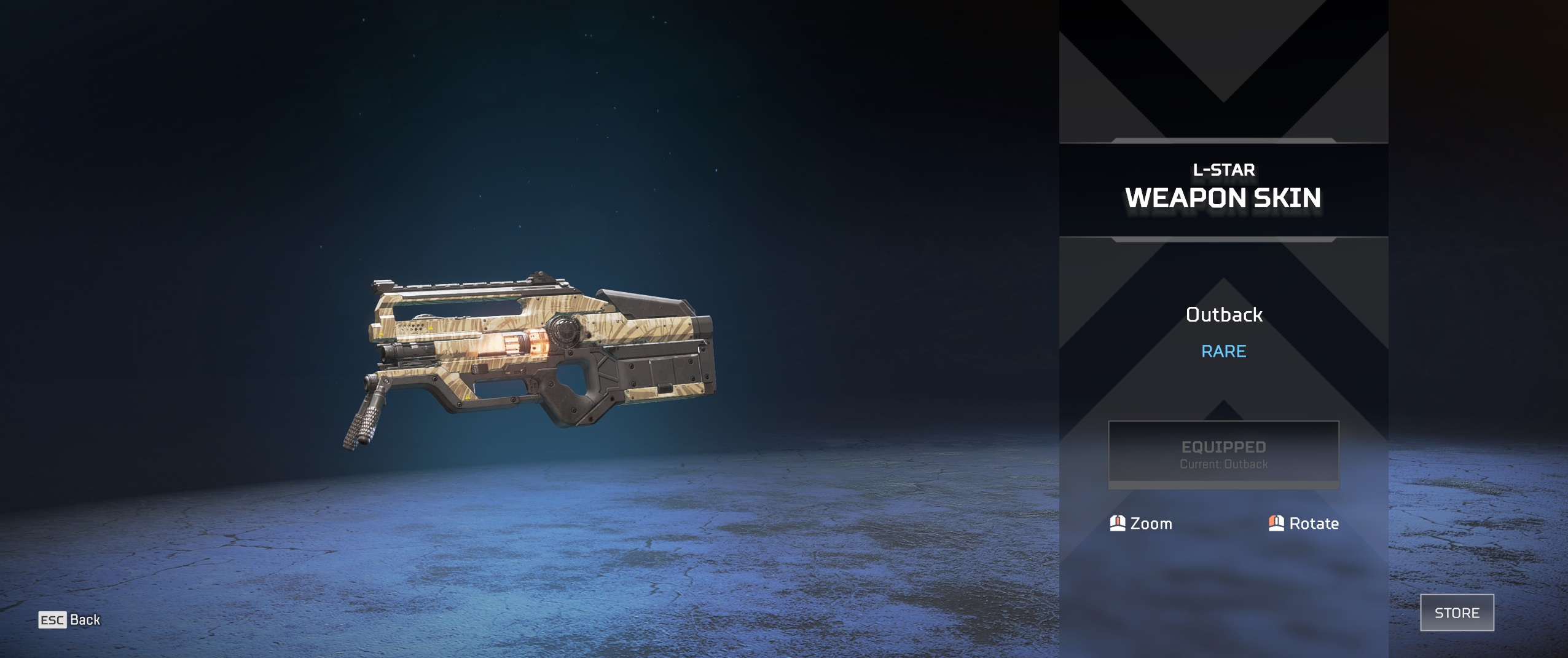 L-Star Weapon Skin