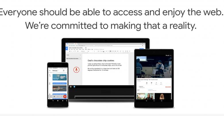 Chrome Accessibility