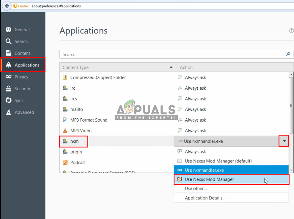 Fix: Nexus Mod Manager not Downloading - Appuals com