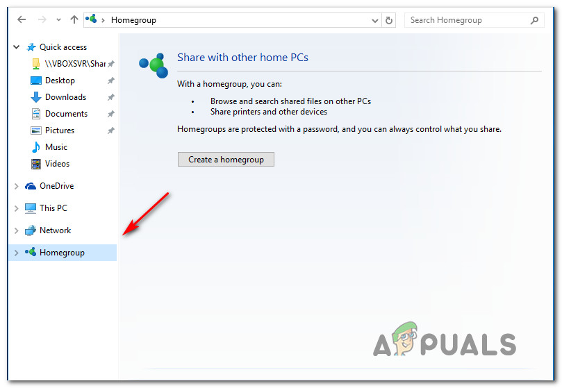 How to Retreive or View HomeGroup Password in Windows 10 - Appuals com