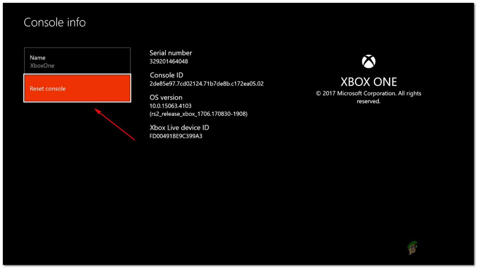 How to Fix Xbox One Error 0x87e107e4 - Appuals com