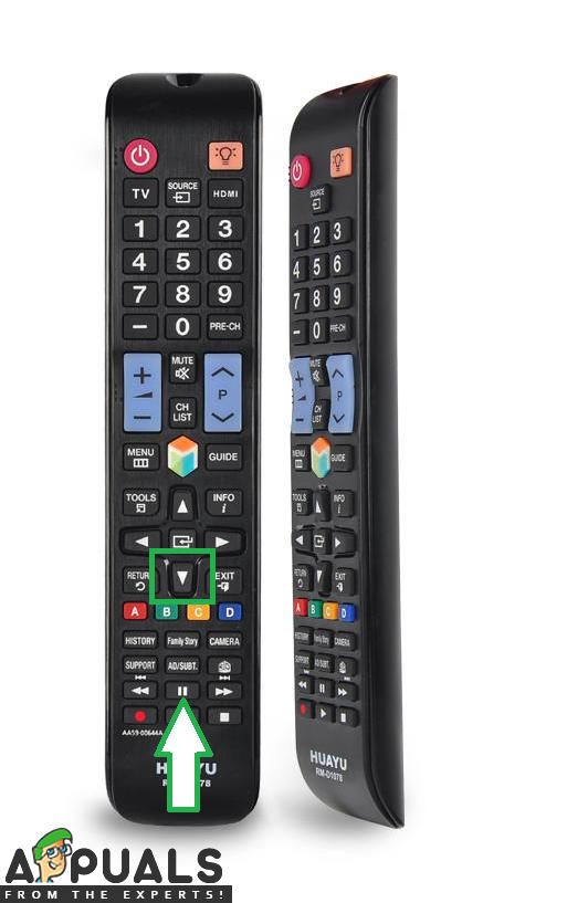Fix: Samsung TV Remote not Working except for Power Button