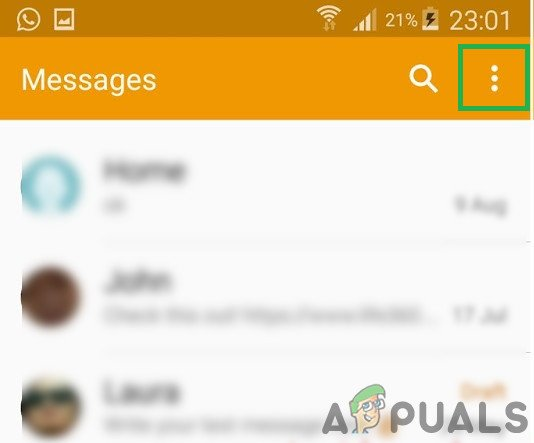 Fix: Unfortunately, IMS Service has stopped on Android - Appuals com