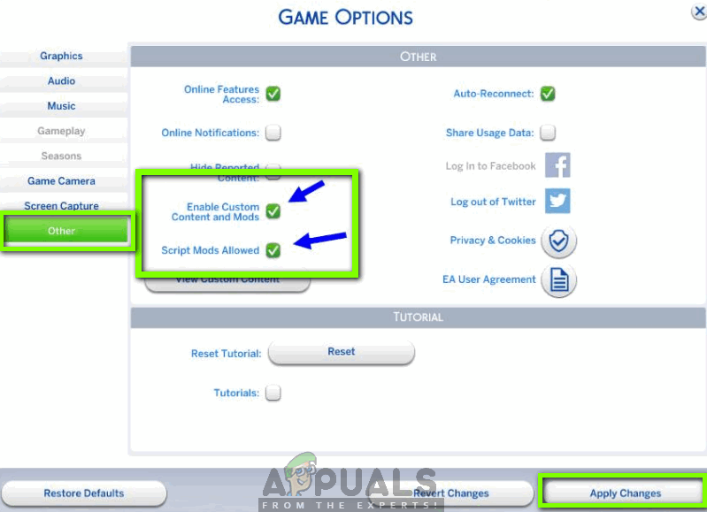 Fix: Sims 4 Mods not Working Appuals com