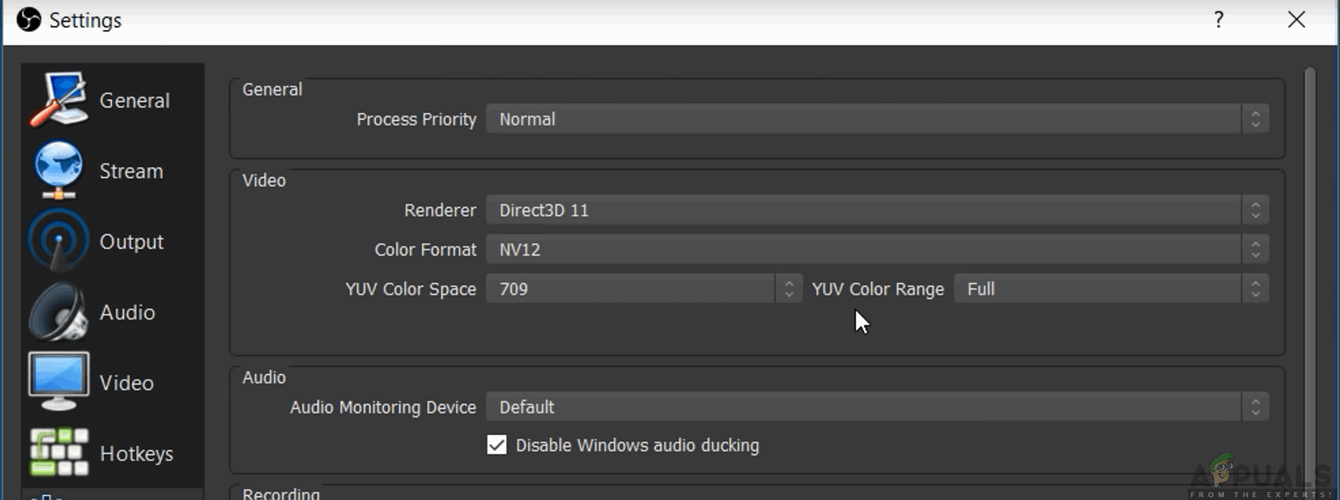 What are the Best OBS Settings for Recording - Appuals com