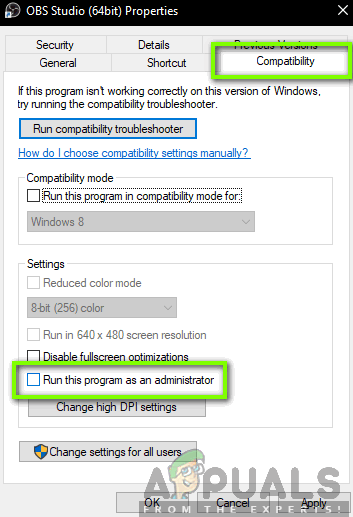 How to Fix Black Screen in OBS Studio - Appuals com