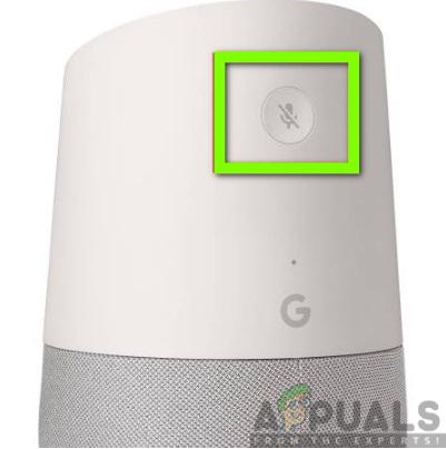 Google Home-Reset-Schaltfläche