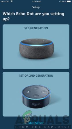 echo dot generation