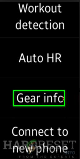 Gear info